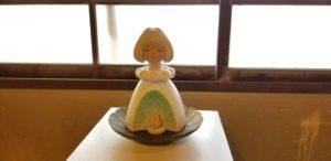 松浦邸 少女像