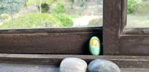 松浦邸 窓辺のアート